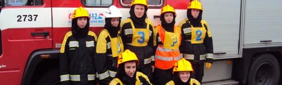 demonstratie jeugdbrandweer